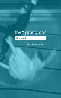 [theMystery.doc hardcover book cover art.]